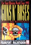GUNS N ROSES - 1993 - Plakat - In Concert - Use your... Tour - Poster - Frankfurt