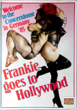 FRANKIE GOES TO HOLLYWOOD - 1985 - Welcome to... Tour - Poster - Andruck