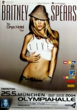 SPEARS, BRITNEY - 2004 - Plakat - Concert - Onyx Hotel Tour - Poster - München