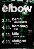 ELBOW - 2001 - Plakat - In Concert - Asleep in the Back Tou - Potster