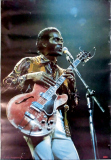 BERRY, CHUCK - 1973 - Musik - Plakat - Rock n Roll - Live Foto - Poster