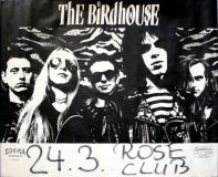 BIRDHOUSE - 1988 - Plakat - In Concert - Meglamania Tour - Poster - Köln