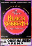 BLACK SABBATH - 1999 - Plakat - Concert - Last Supper Tour - Poster - Oberhausen