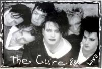 CURE, THE - XXXX - Musik - Plakat - 1987/88 Live - Poster