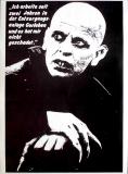 NOSFERATU - 198X - Pakat - Klaus Kinski - Gorleben - Poster