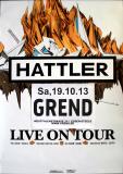 HATTLER, HELLMUT - KRAAN - 2013 - Plakat - In Concert - Poster - Essen