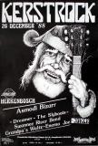 KERSTROCK - 1988 - Plakat - Asmodi Bizarr - Dreamer - The Slyboots - Poster