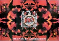 SLAYER - 1992 - Musik - Plakat - Decade of Aggression - Poster - GER-106