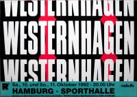 WESTERNHAGEN, MARIUS MÜLLER - 1992 - Plakat - Ja Ja Tour - Poster - Hamburg