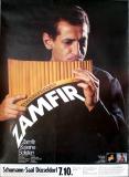 ZAMFIR, GHEORGHE - 1976 - Plakat - Panflöte - In Concert - Poster - Düsseldorf
