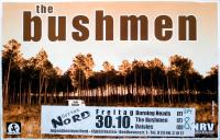 BUSHMEN, THE - 1998 - Plakat - Punk - Life Is Hard.... Tour - Poster - Herten
