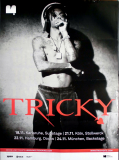 TRICKY - 2010 - Plakat - In Concert - Mixed Race Tour - Poster