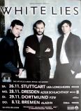 WHITE LIES - 2010 - Plakat - In Concert - Ritual Tour - Poster