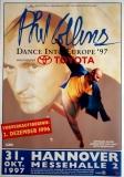 COLLINS, PHIL - GENESIS - 1997 - Plakat - Concert - Dance Tour - Poster - Hannover