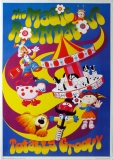 MAGIC ROUNDABOUT - Totally Groovy - Poster