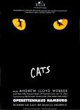 CATS - Musik - Plakat - Musical - Katzen - Andrew Lloyd Webber - Poster - GER-07