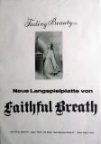FAITHFUL BREATH - 1974 - Promoplakat - Fading Beauty - Poster