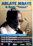 MBAYE, ABLAYE - 2004 - Tourplakat - In Concert - Senegal - Tourposter