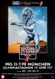 ROLLING STONES - 1998-07-13 - Plakat - Bridges to - Poster - München (L)