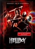 HELLBOY - 2004 - Filmplakat - Gesandt um zu zerstören - Poster