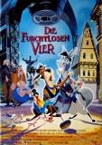 FURCHTLOSEN VIER - 1997 - Filmplakat - Bremer Stadtmusikanten - Poster