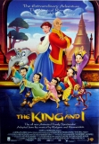 KING AND I - 1999 - Filmplakat - Poster