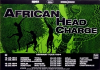 AFRICAN HEAD CHARGE - 1994 - Tourplakat - In Concert - Tourposter