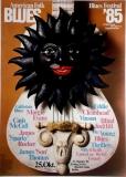 AMERICAN FOLK & BLUES - 1985 - Plakat - Günther Kieser - Poster - Berlin