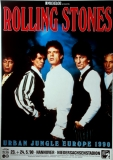 ROLLING STONES - 1990-05-23 - Plakat - Urban Jungle - Poster - Hannover  (G)