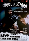 SNOOP DOGG - 2005 - Konzertplakat - Hip Hop - Masterpiece - Tourposter - Hamburg