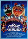 MUPPETS EROBERN MANHATTAN - 1984 - Filmplakat - Poster