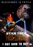 STAR TREK - FIRST CONTACT - DVD - Promplakat - 1996
