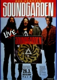 SOUNDGARDEN - 1992 - Konzertplakat - In Concert - Tourposter - Düsseldorf