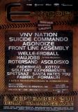 E-TROPOLIS - 2011 - Plakat - VNV Nation - Welle Erdball - Poster - Berlin