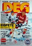 EISHOCKEY - 1986 - Plakat - DEG - Düsseldorf - Brehmstrasse - Poster