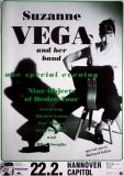 VEGA, SUZANNE - 1996 - Konzertplakat - Nine Objects - Tourposter - Hannover