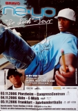 NE-YO - 2006 - Tourplakat - So Sick - mit Autogramm - Signed