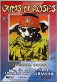 GUNS N ROSES - 2001 - Plakat - In Concert - Tourposter - Berlin