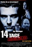 14 TAGE LEBENSLÄNGLICH - 1997 - Filmplakat - Kai Wiesinger - Poster