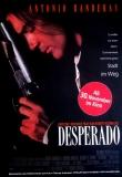 DESPERADO - 1995 - Filmplakat - Rodriguez - Antonio Banderas - Poster