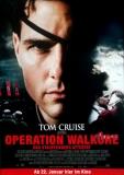 OPERATION WALKÜRE - 2008 - Plakat - Tom Cruise - Stauffenberg - Poster - B