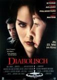 DIABOLISCH - 1996 - Filmplakat - Sharon Stone - Isabelle Adjani - Poster