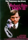 BARBARAS BABY - OMEN 3 - 1981 - Plakat - Horror - Lisa Harrow - Poster