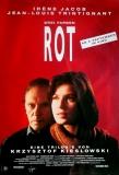 DREI FARBEN: ROT - 1994 - Filmplakat - Irène Jacob - Poster