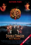 DOUBLE DRAGON - DIE 5. DIMENSION - 1994 - Filmplakat - Poster