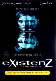 EXISTENZ - 1999 - Filmplakat - Cronenberg - Jude Law - Dafoe - Poster