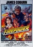 FIREPOWER - 1979 - James Coburn - Sophia Loren - O.J. Simpson - Poster