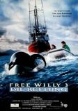 FREE WILLY 3 - DIE RETTUNG - 1997 - Filmplakat - Orka - Schellenberg - Poster