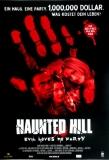 HAUNTED HILL - 1999 - Filmplakat - Famke Janssen - Geoffrey Rush - Poster