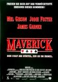 MAVERICK - 1994 - Filmplakat - Jodie Foster - James Garner - Poster